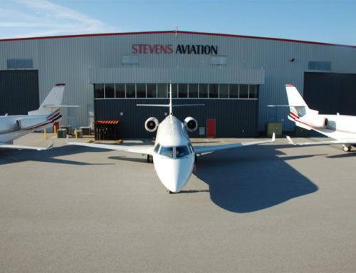 Griffin Closes Mauldin Lease with Stevens Aviation