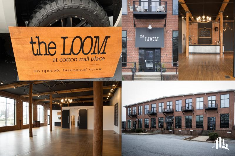 Mark Griffin, CCIM, Closes on The Loom at Cotton Mill Place Event Venue